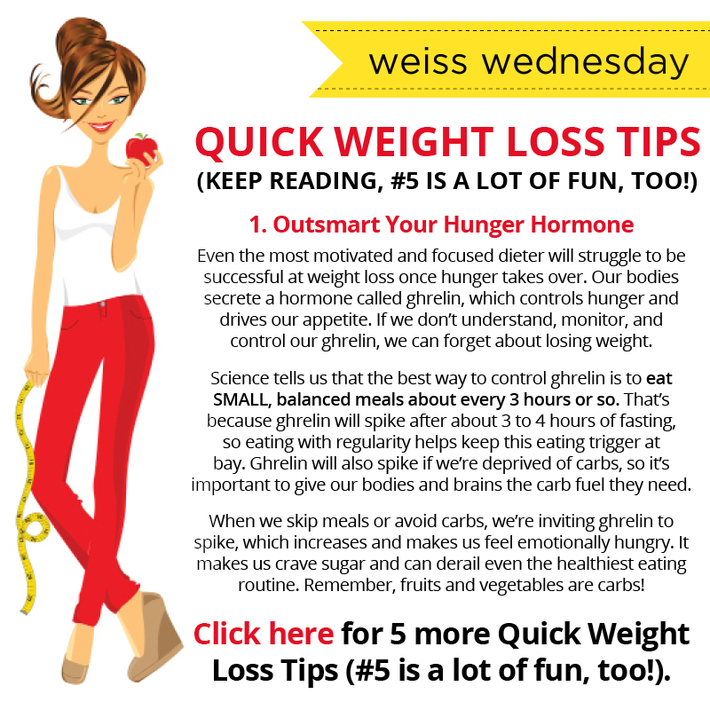 Quick Weight Loss Tips Keep Reading 5 Is A Lot Of Fun Too