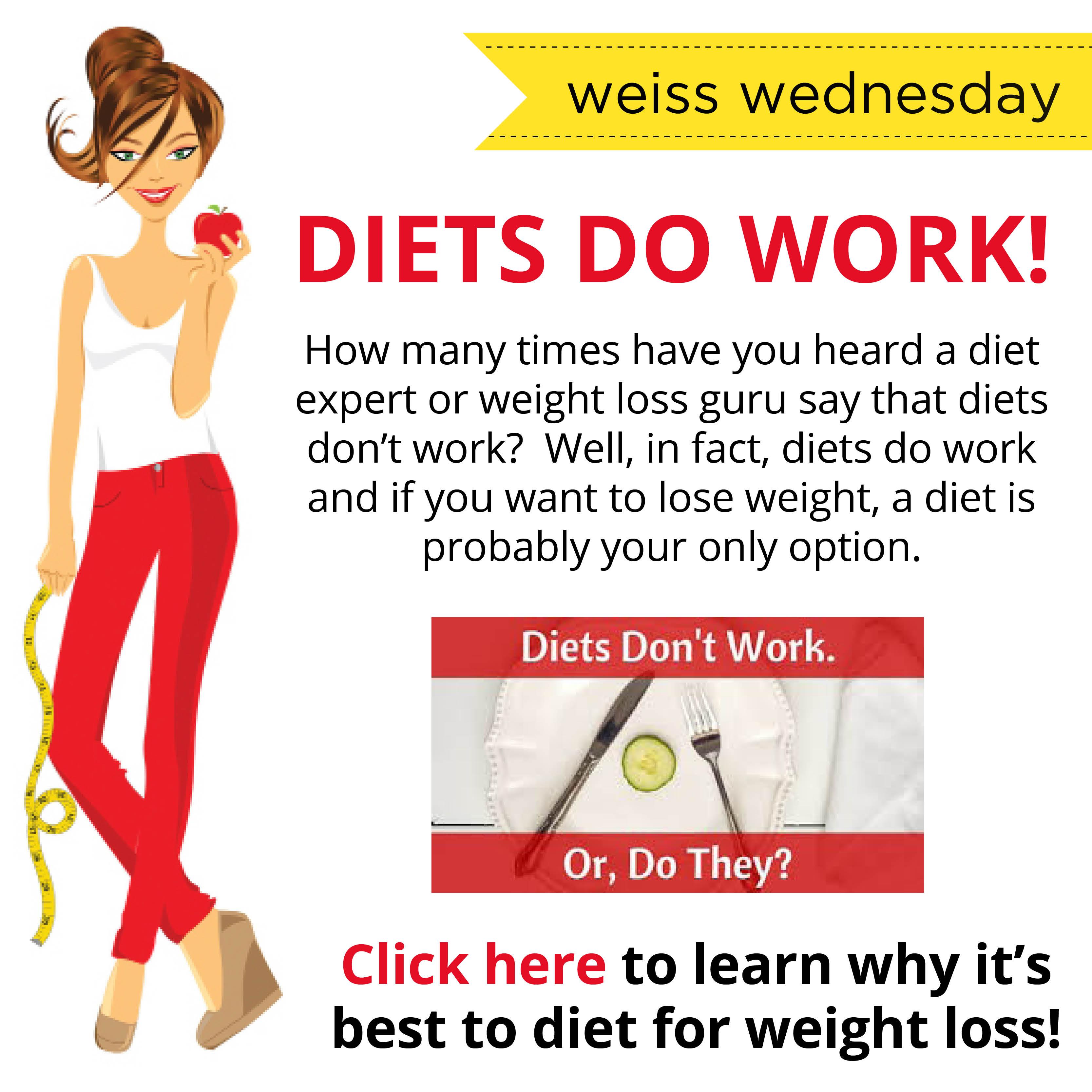 Diets DO Work! | Diet and Binge Eating Specialist Lyssa Weiss ...